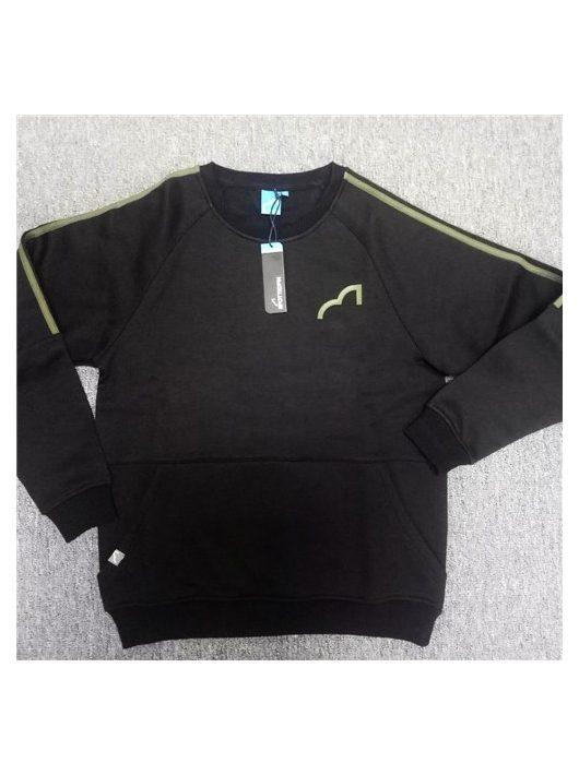 SpottedFin Black Sweatshirt Large