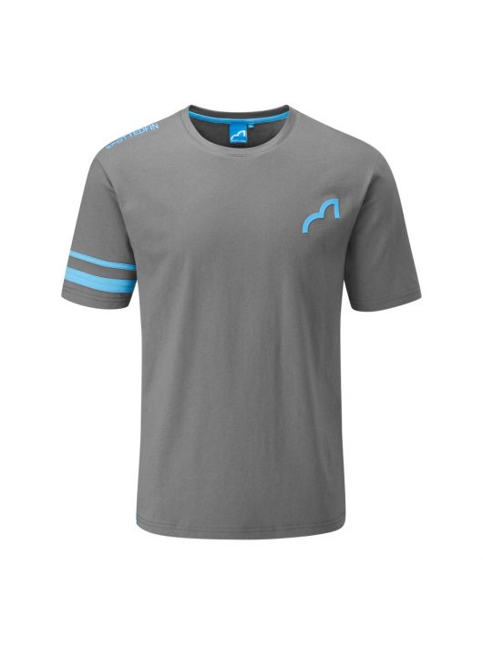 Spotted Fin Grey Team T-shirt Large