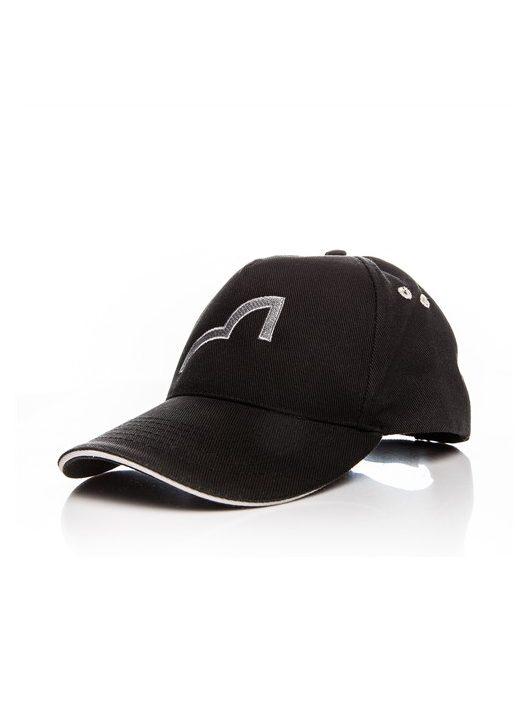 Spotted_Fin_Baseball_Sapka_Szurke_Logo_CAP-GR