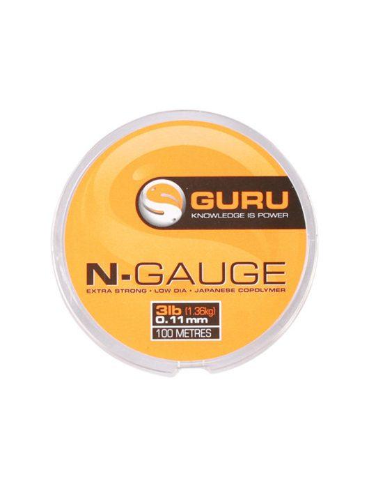 Guru N-Gauge 5lb (0-17mm) előkezsinór