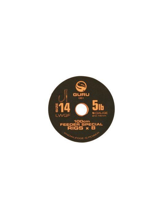 Guru LWGF Feeder Special Rig - 100cm - 12-es horog