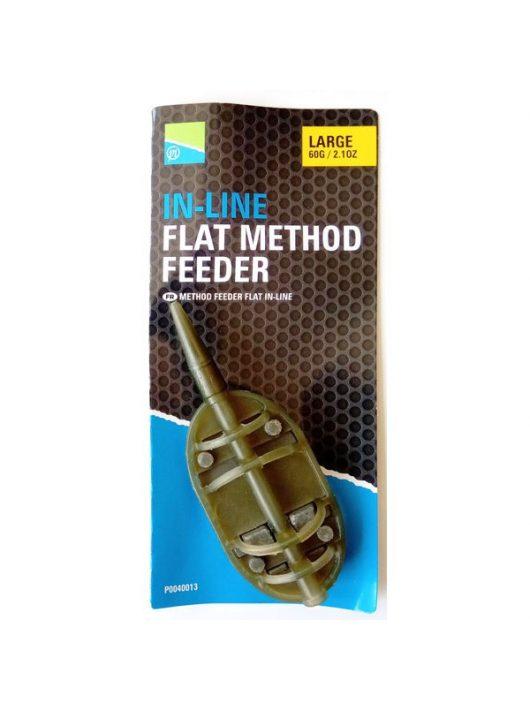 Preston In-Line Flat Method Feeder - Large 60G