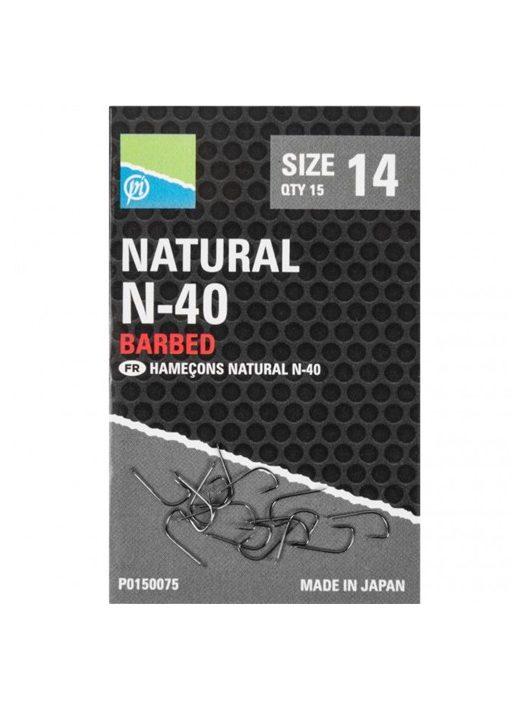 Preston Natural N-40 Size 15