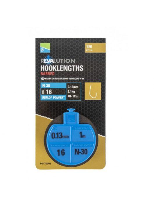 Preston Revalution Hooklengths-N30-Size18