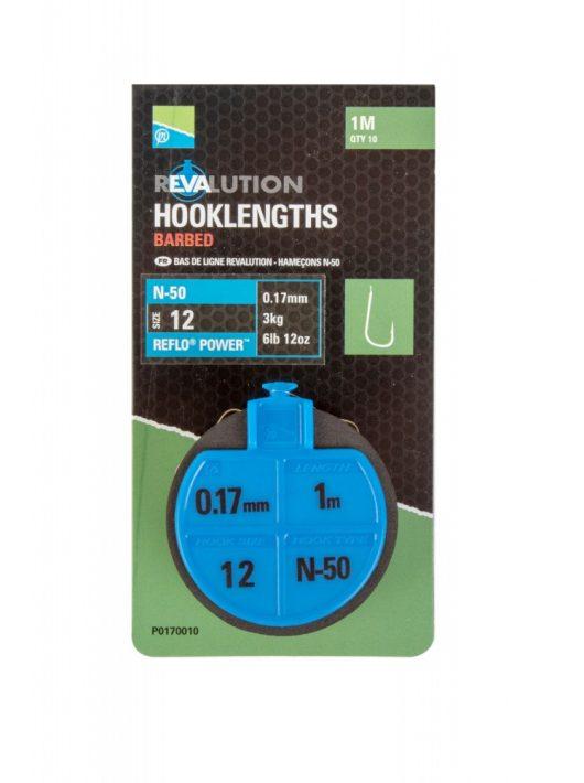 Preston Revalution Hooklengths-N50-Size12