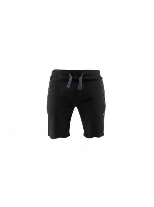Preston Black Jogger Shorts - L
