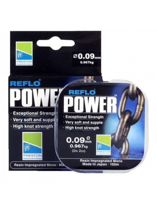 Preston Reflo Power 100M - 0.11mm