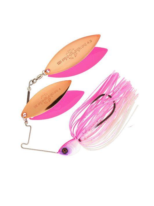 Sakura Cajun Spinnerbait Dw 1/2 Oz - 14G -  Jc10 (Kicker Pink)