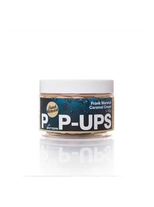 Spotted Fin Frank Warwick Caramel Cream 15mm Pop-ups - Karamella krém