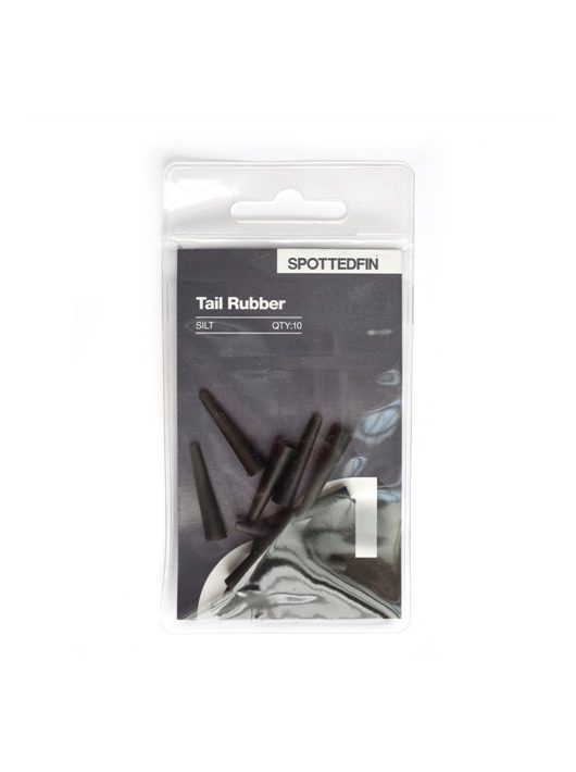 Spotted Fin SF Tail Rubbers - Gumiharang - Iszap 10 darabos