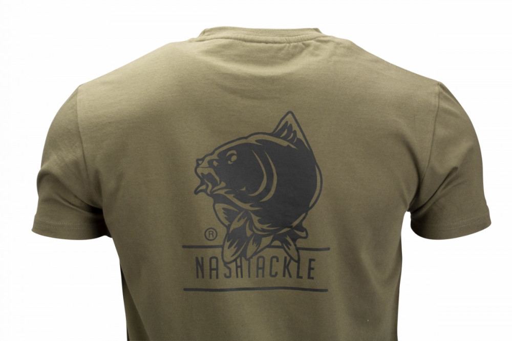 Nash Tackle T-Shirt Green M Póló