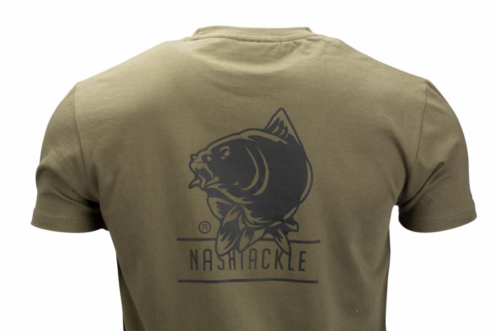 Nash Tackle T-Shirt Green XXL Póló