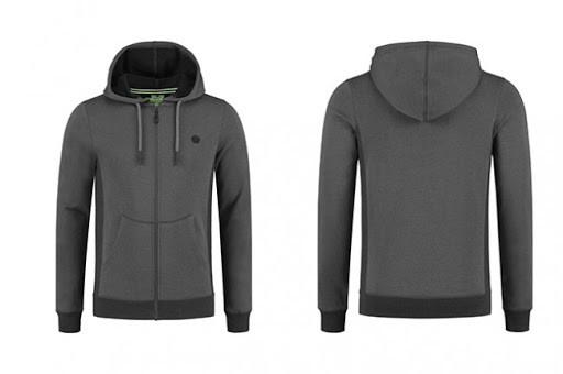 Korda LE Charcoal Zip Hoodie M - zipzáros kapucnis pulóver